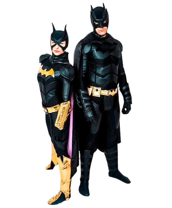 Аниматор Бэтмен и Женщина кошка