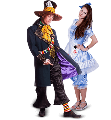 Аниматор Шляпник и Алиса